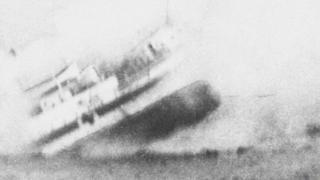 The sinking of HMS Anglia