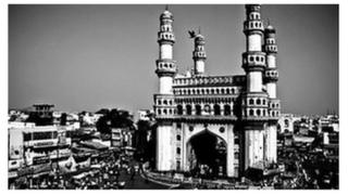The city of Hyderabad
