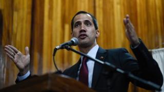 Guaidó se convirtió en el rostro visible de la oposición a Maduro.