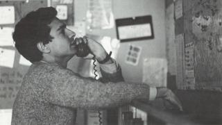 Switchboard phone volunteer