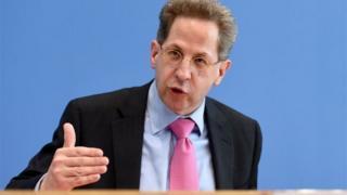 هانس گئورگ ماسان، مسئول سازمان امنیت داخلی آلمان