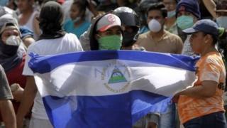 تظاهرات در نیکاراگوئه