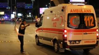 Ambulance in Turkey
