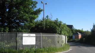 Caythorpe recycling centre