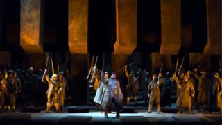 Premiere of the opera Il Trovatore in 2016
