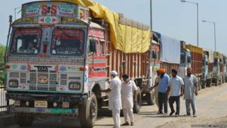 Trucker Strike, India,