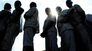 Prisoners dey Kenya