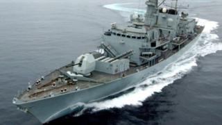 برطانوی بحریہ کا جہاز