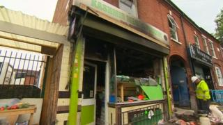 Walsall halal butchers attack