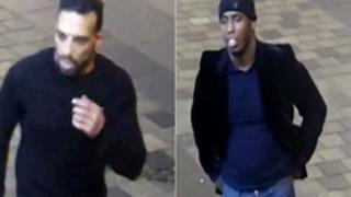 Two men wanted for questioning over Sauchiehall Street attack