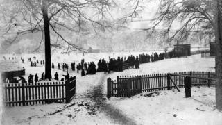 Snow at Rudyard Lake, 1890