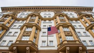 La embajada de Estados Unidos en la Unión Soviética