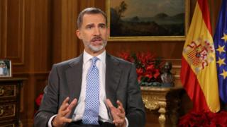King Felipe VI gives Christmas address - 24 December