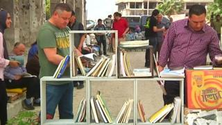 لذت کتابخوانی در کشاکش جنگ داخلی لیبی