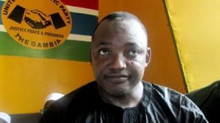 Adama Barrowm Gambie