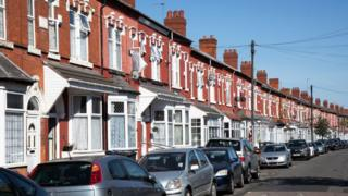 Northern Ireland Terraced housing