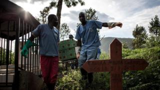 Ebola imaze guhitana abantu barenga 1600 mu burasirazuba bwa Kongo kuva mu mwaka ushize