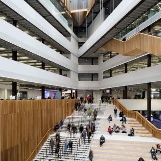 Interior del Colegio de la Ciudad de Glasgow