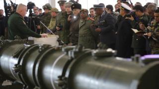 Русија демонстрира ракете 9М729