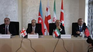 Azərbaycan, Türkiyə, İran və Gürcüstan xarici işlər nazirləri
