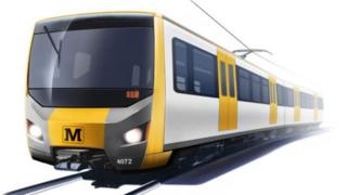Concept design of how a new Metro train could look