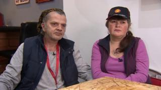 Paul Deacon and Sheena Ruddy