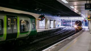 A generic picture of trains at New Street Station