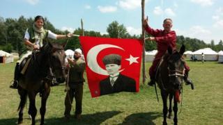 Macaristan'daki Kurultay etkinliği