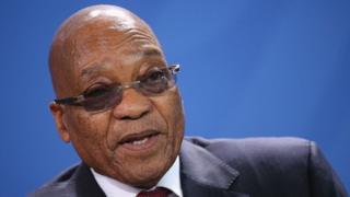 Eedeymaha ka dhanka ah Zuma
