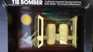 Tie bomber authentic imperial spacecraft