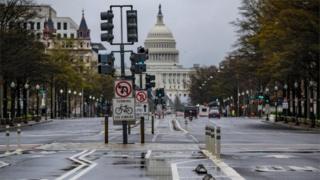 Deserted Washington DC
