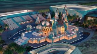 అబూదాబిలో అక్షరధామ్ హిందూ ఆలయం