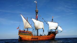 The Matthew ship