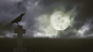 Серная ворона и Луна