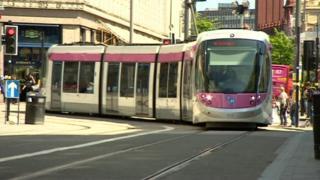 New Street tram