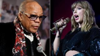 Quincy Jones and Taylor Swift
