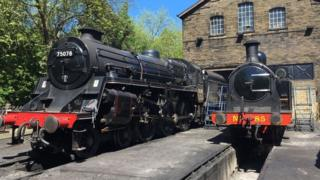 Steam engines at North Yorkshire Moors Railway