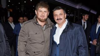 Кадыров и Цицулаев