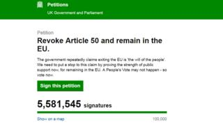 Brexit debate: Do petitions ever work?
