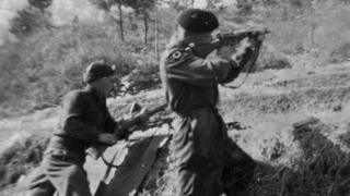 Gloucestershire Regiment soldiers during the Korean War