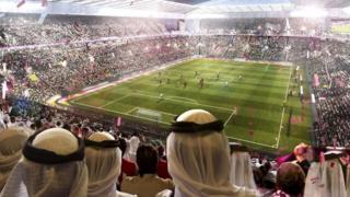2022ஆம் ஆண்டின் கால்பந்து உலகக்கோப்பை விளையாடுகளை கத்தார் நடத்துகிறது.