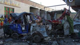Car explosion in Somalia