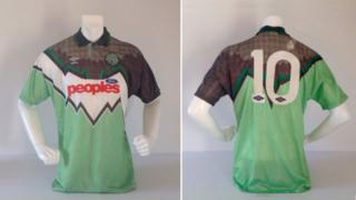 Stolen Celtic shirt