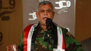 """Хади аль-Амири, глава организации """"Бадр"""", крупнейшего шиитского вооруженого формирования"""