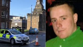 Owen Hassan was found injured in Shawlands