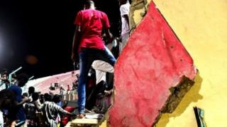 Filin wasan kwallon kafa a na Demba Diop Senegal