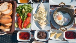 وجبة إفطار تركية