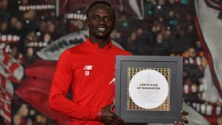 Sadio Mane et Didier Drogba sont les seuls africains à accéder à la 4e place du Ballon d'Or depuis le sacre de Georges Weah en 1995