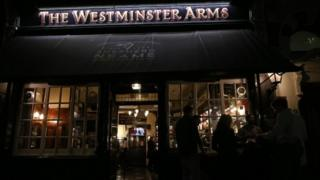 The Westminster Arms pub