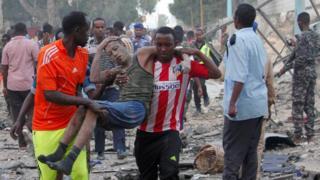 حمله به هتلی در موگادیشو
